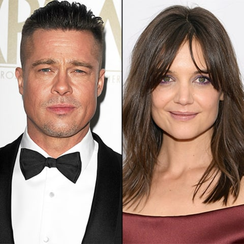 Brad Pitt and Katie Holmes