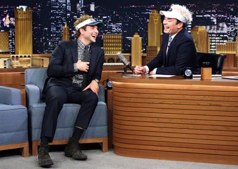 bradley cooper and jimmy fallon can't stop laughing