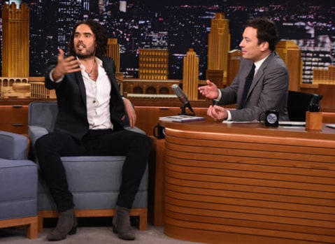 Russell Brand on the Tonight Show