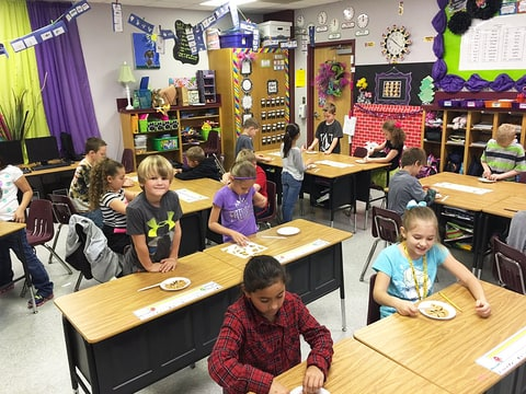 Brandy Young students classroom no-homework policy