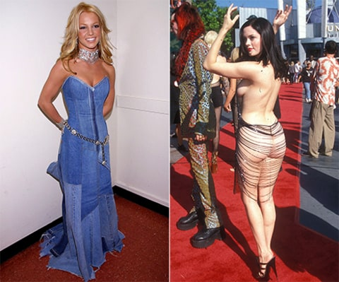 Britney and Rose throwback vma