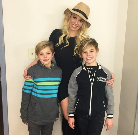 Britney Spears, Sean Federline and Jayden James Federline