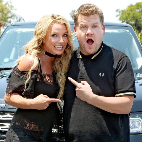 Britney Spears joins James Corden for Carpool Karaoke.