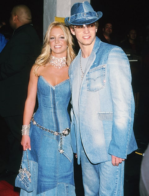 britney and jt in matching outfits