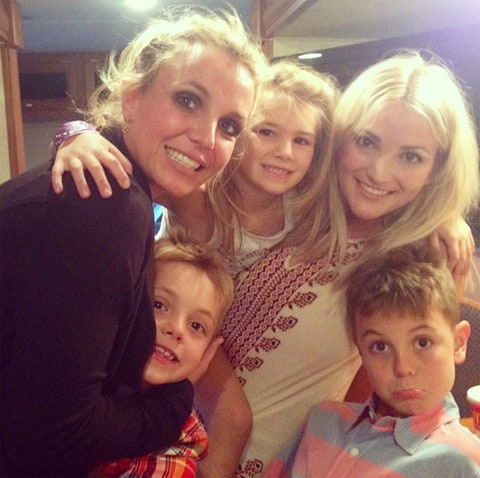 jamie lynn spears and britney relationship with justin