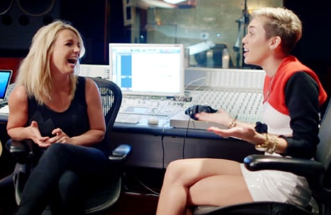 miley and britney