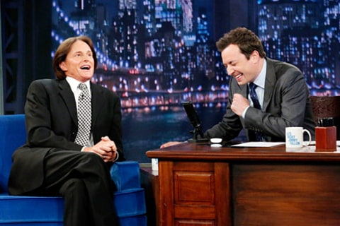 bruce jenner on jimmy fallon