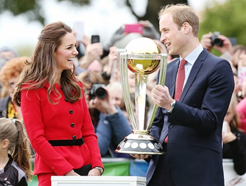 kate middleton prince william cricket cup