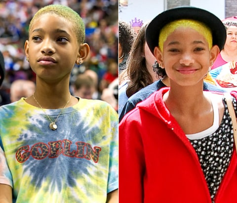 willow smith hair changes