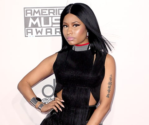 Nicki Minaj at the AMAs