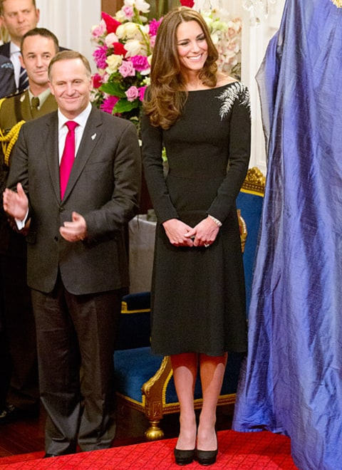 kate at unveiling