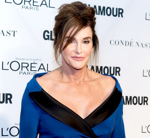 Caitlyn Jenner attends Glamour's 25th Anniversary Women Of The Year Awards at Carnegie Hall on November 9.