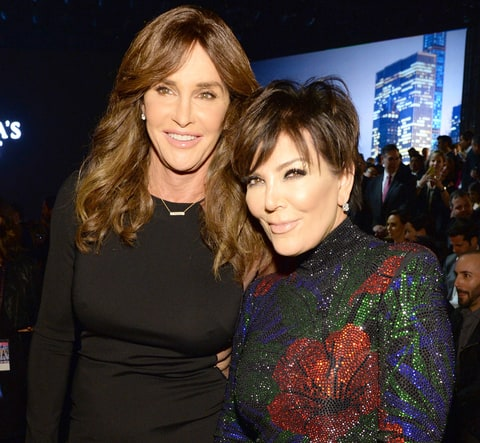 Caitlyn Jenner and Kris Jenner