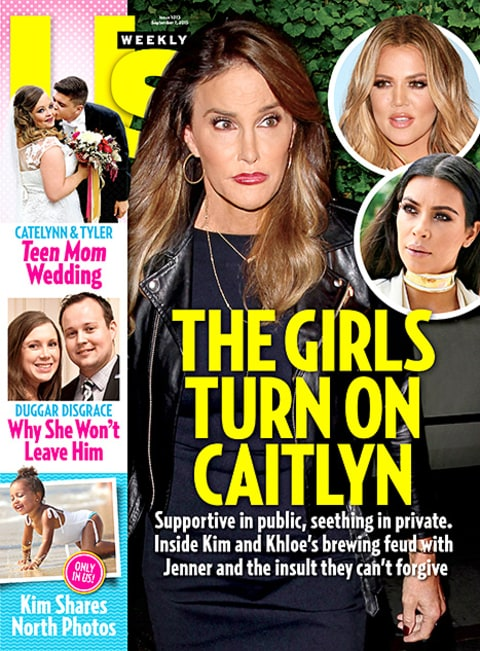 Caitlyn Jenner - Us Weekly Cover