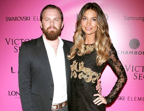 Caleb Followill and Lily Adlridge