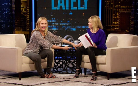 cameron diaz on chelsea lately