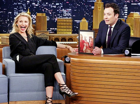 cameron diaz on fallon