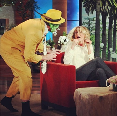 cameron diaz on ellen