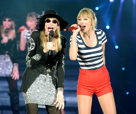 Carly Simon and Taylor Swift