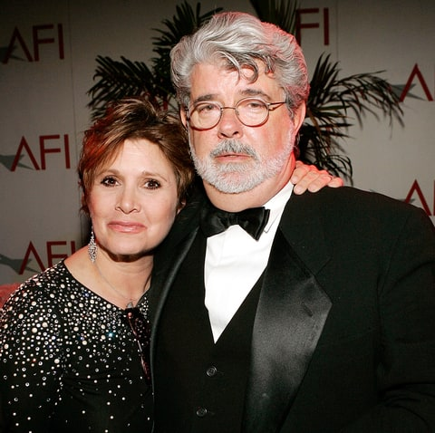 Carrie Fisher George Lucas