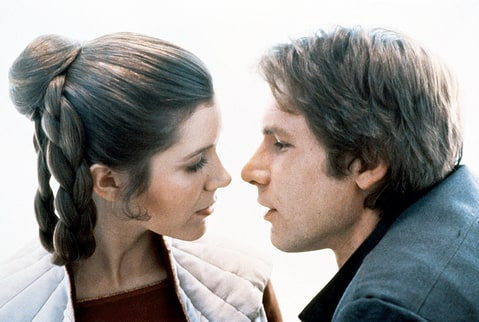 Carrie Fisher Harrison Ford The Empire Strikes Back