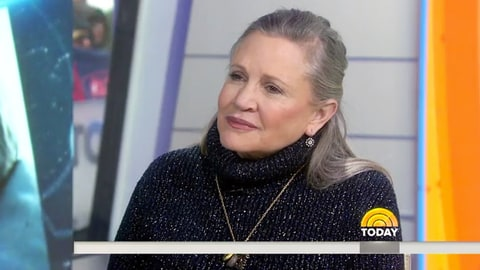 Carrie Fisher Today show