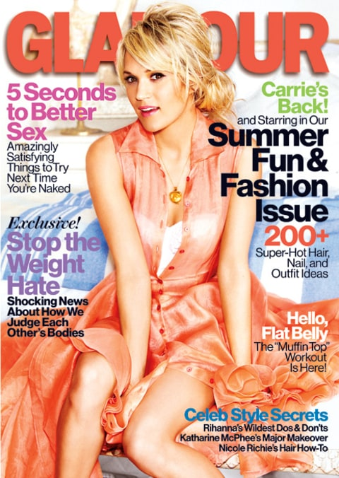 carrie underwood glamour