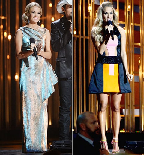 carrie underwood cma outfits 2
