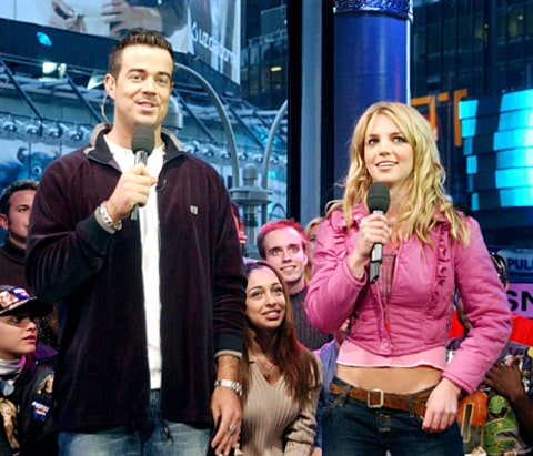 Carson and Britney - TRL