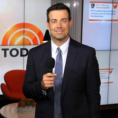 Carson Daly at the Today Show