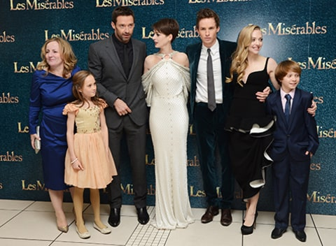 Cast of Les Miserable Movie