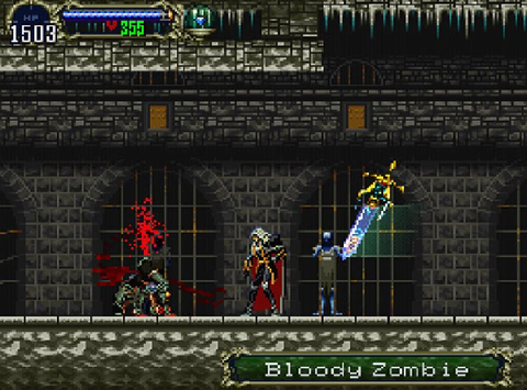 'Castlevania: Symphony of the Night'