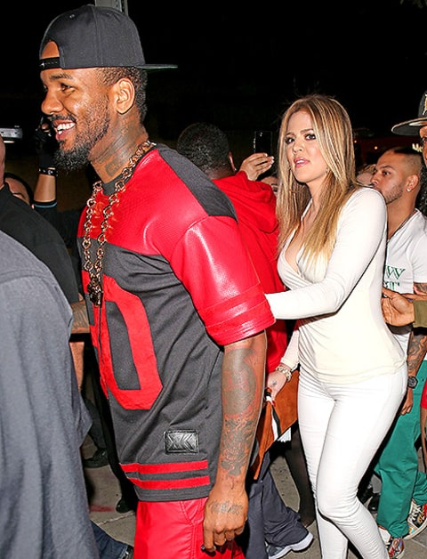 the game and khloe