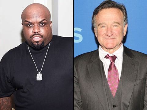 Cee Lo Green and Robin Williams