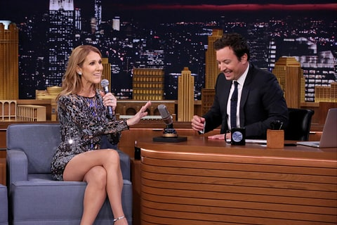 Céline Dion nails musical impressions on 'Tonight Show'
