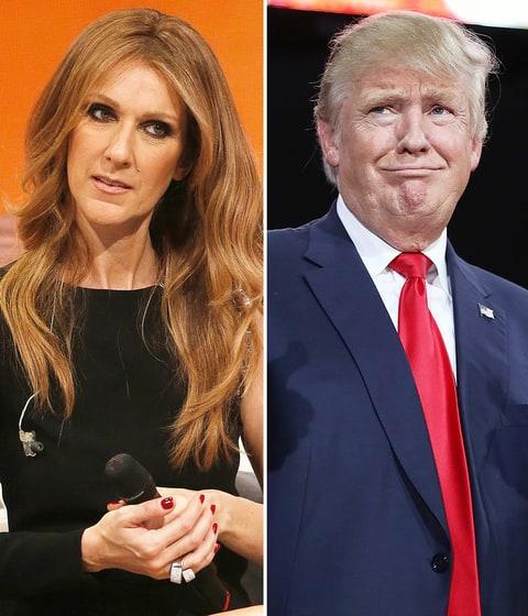 Celine Dion Donald Trump