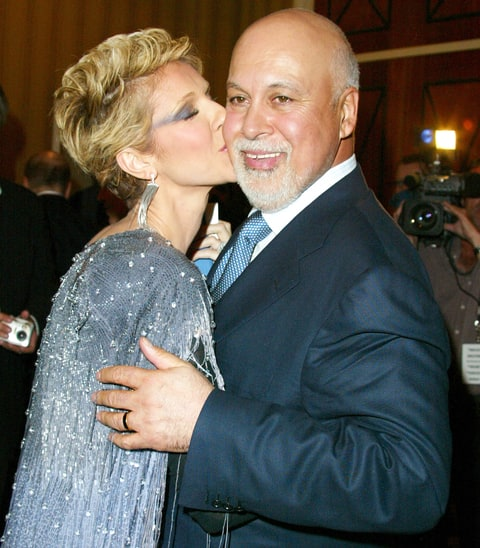 Celine Dion and Rene Angélil