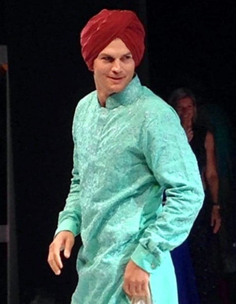 Ashton Kutcher - Indian Wedding