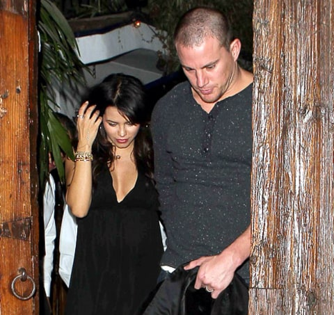 Channing and Jenna Date Night