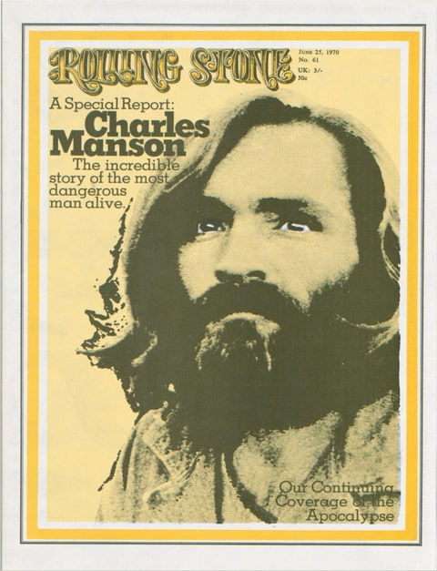 Rolling Stone Charles Manson Cover