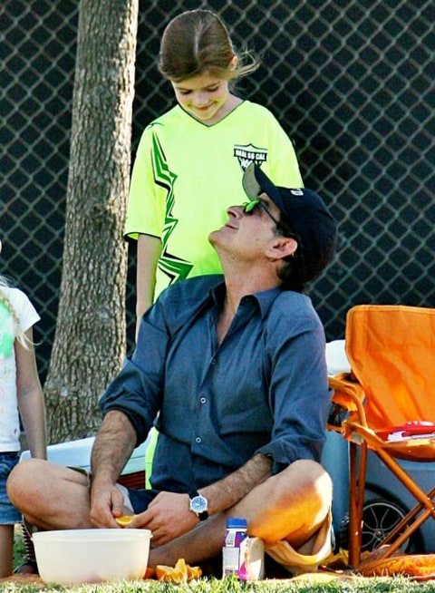 charlie sheen and daughter sam