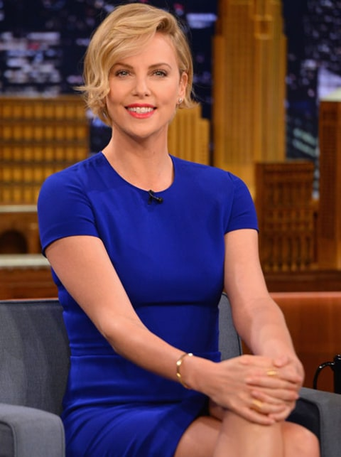 Charlize Theron on The Tonight Show