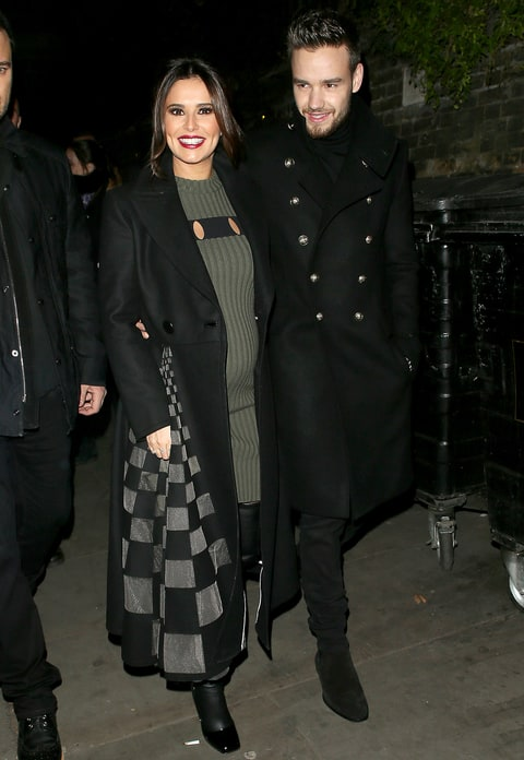 Liam Payne and Cheryl attending The Fayre of St James's Church on November 29, 2016 in London, England.