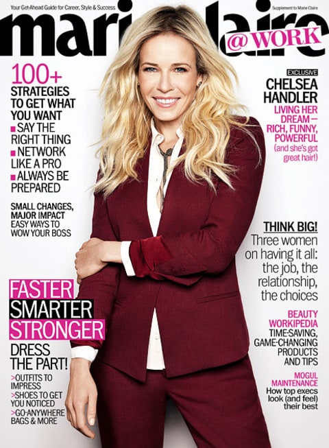 Marie Claire Chelsea Cover