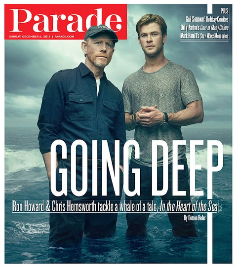 Chris Hemsworth on the cover of Parade