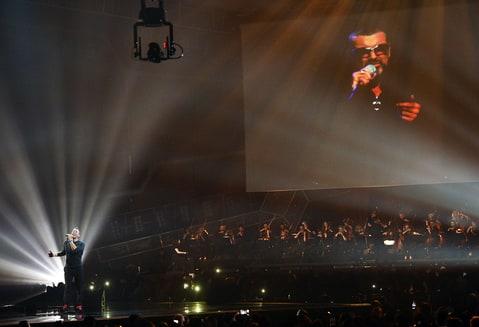 Chris Martin Brit Awards George Michael tribute
