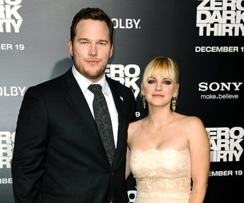 chris pratt and ana faris