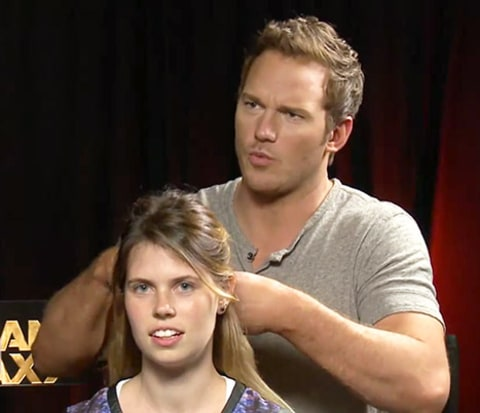 Chris pratt interview braiding