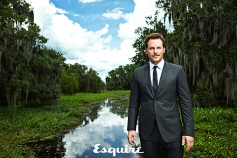 chris pratt in esquire