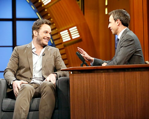 Chris Pratt - seth meyers